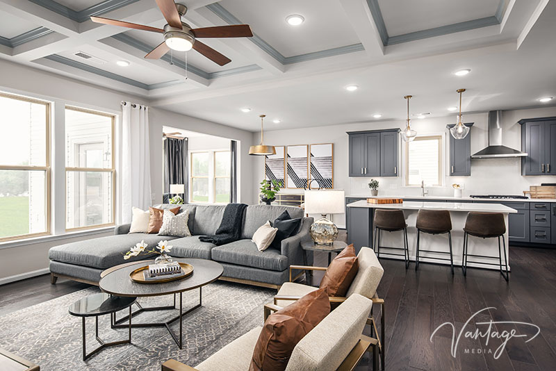 Model Home Interiors Photography