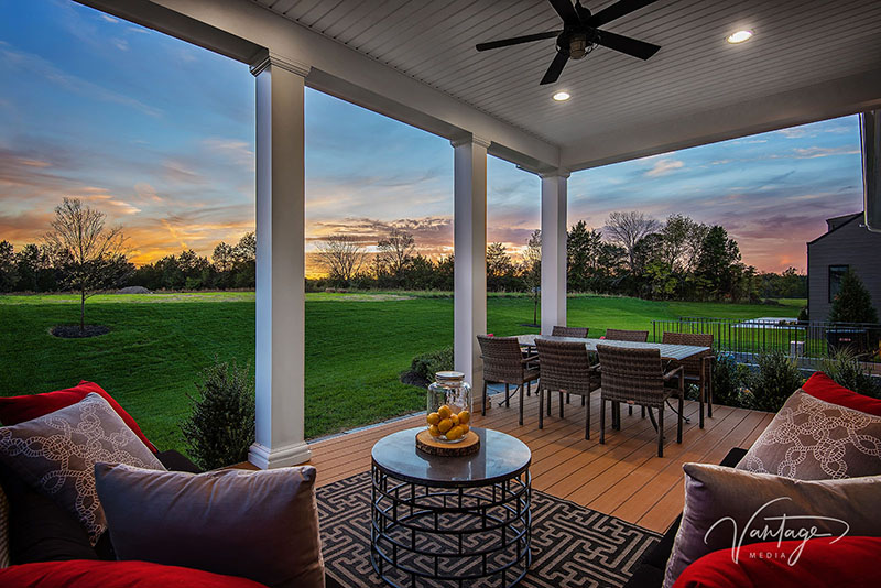 Model Home Exteriors Photography